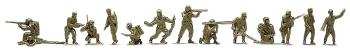 Roco 117 Soldaten Kampfgruppe 12 Stk.