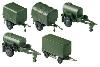 Roco 676 Anhänger-Set